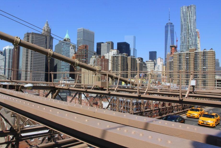 Uitzicht Brooklyn Bridge