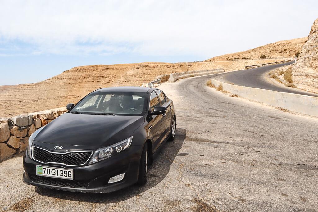 auto huren in jordanie
